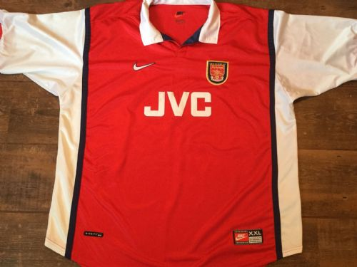 1998 1999 Arsenal Home Football Shirt Adults 2XL XXL